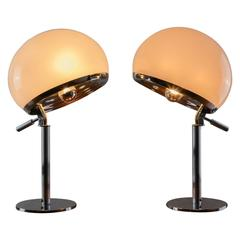 "Pair of ""Bino"" Table Lamps by Gregotti, Meneghetti and Stoppino for Candle"