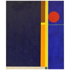 'Composition' Pure Abstract Mid-Century Work by Charles Domsky, Philadelphia