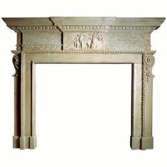 18th Century Reproduction Palladian Mantel
