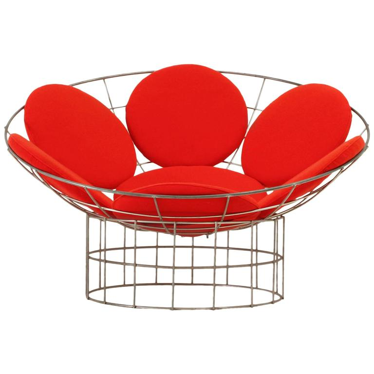 peacock chair by verner panton at 1stdibs. Black Bedroom Furniture Sets. Home Design Ideas
