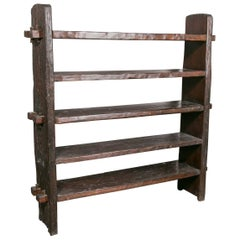 Impressive Stocky Wooden Shelf
