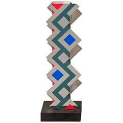 Roland Cabot, French Steel and Painted Sculpture, Untitled