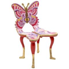 Signed Pedro Friedeberg Butterfly Chair an Exceptional Example