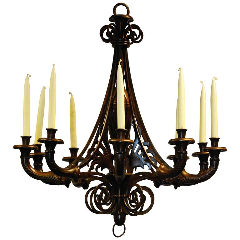 Gorgeous Napoleon Style Chandelier from France, circa 1810