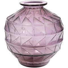 Important Vase by Daum, Circa 1930