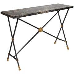 Console Table by Maison Baguès, circa 1950