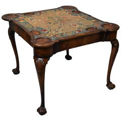 Early 20th Century Walnut Card Table in the Queen Anne Style