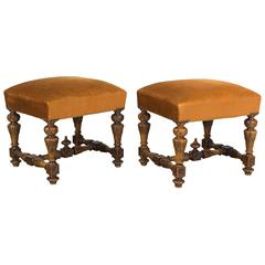 Pair of French Stools