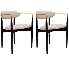 Pair of Viscount Chairs by Dan Johnson
