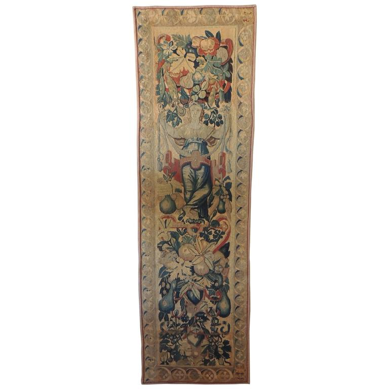 18th Century Aubusson Tapestry Wall-Hanging