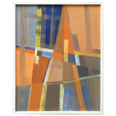 Eric Kunitz 1958 Abstract Painting