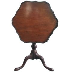 18th Century English Chippendale Tea Table