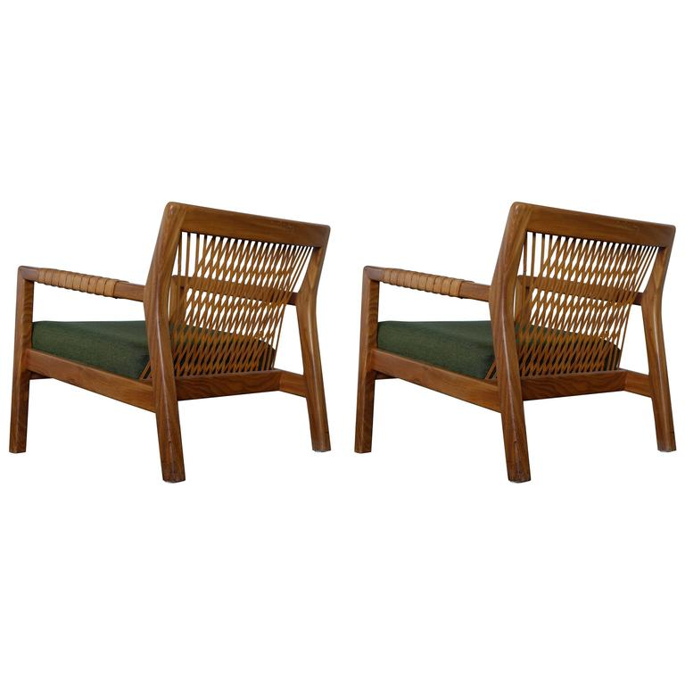 Pair of Armchairs by Carl Gustav Hiort Af Ornäs, 1950s
