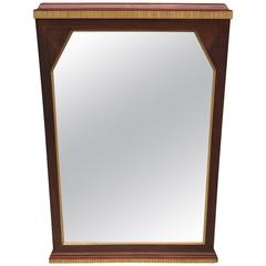 Art Deco French Beveled Mirror