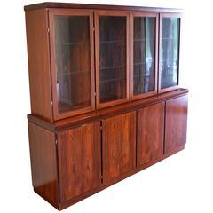 Large Skovby Rosewood Display Cabinet *SALE*
