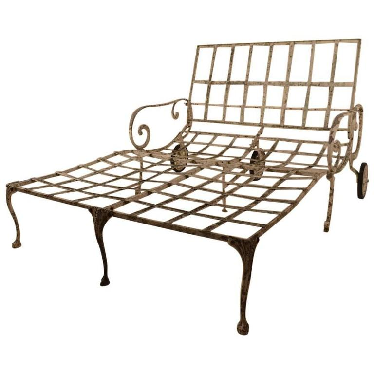 Rare Molla Double Chaise One of Two
