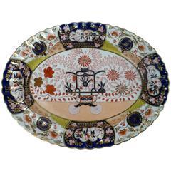 Mid-19th Century Copeland Imari Pattern Porcelain Platter