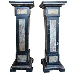 Pair of French Neoclassical Style Pedestals