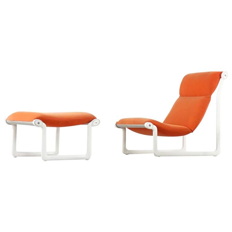 Knoll International Lounge Chair Design Bruce R. Hannah and Andrew ...