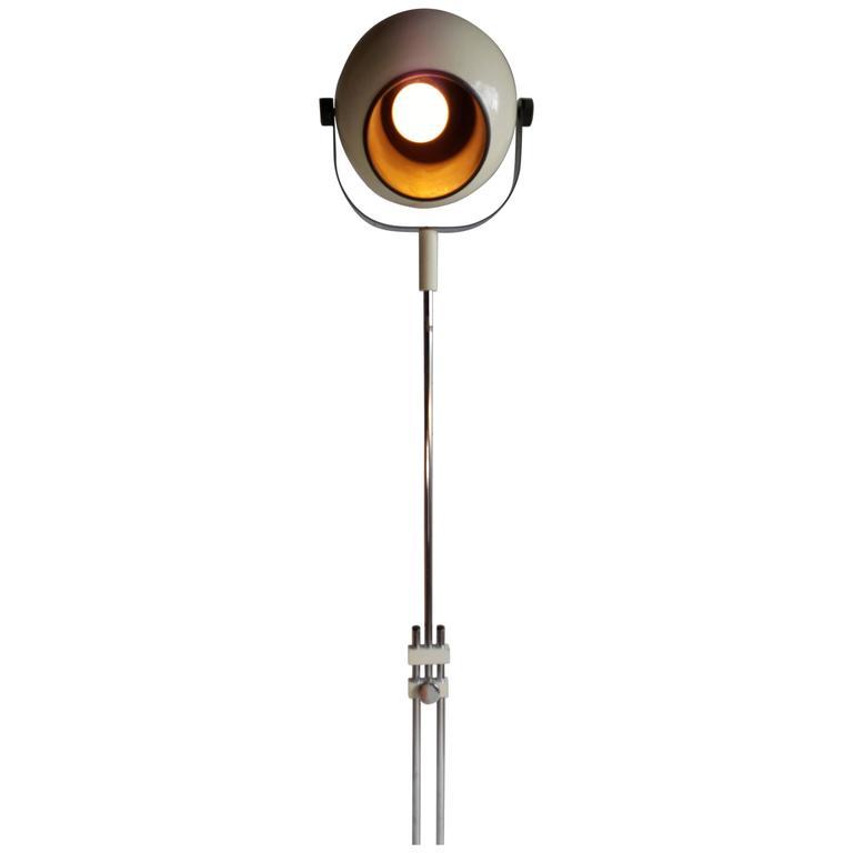 Pop Space Age Sonneman Telescoping Floor Lamp