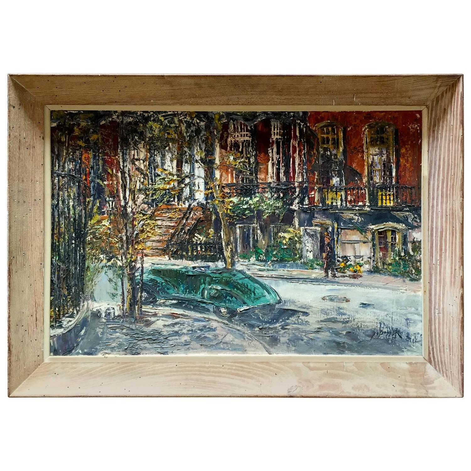 1940s Paintings 352 For Sale at 1stdibs