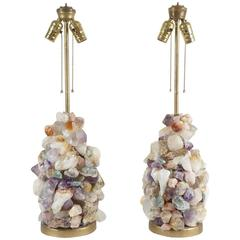 Pair of Quartz Lamps