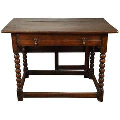 William and Mary Gate Leg Table