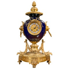 19th Century French Ormolu Mantel Clock