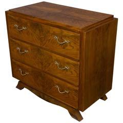 French 1940s Walnut Chest of Drawers