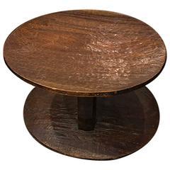 African Hardwood Stool