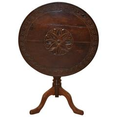 18th Century English Tilt-Top Table