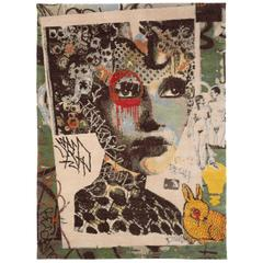 Street Art Small Area Rug by Dain 'Franklyn'