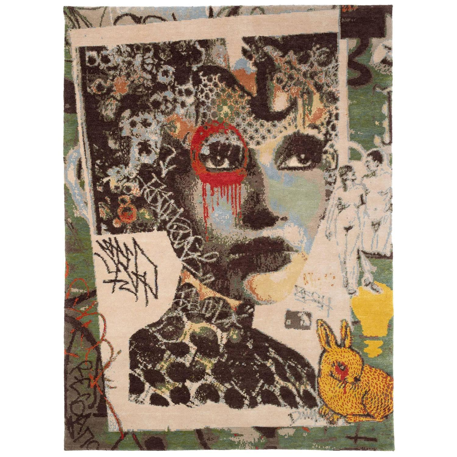 Street Art Small Area Rug By Dain U0027Franklynu0027