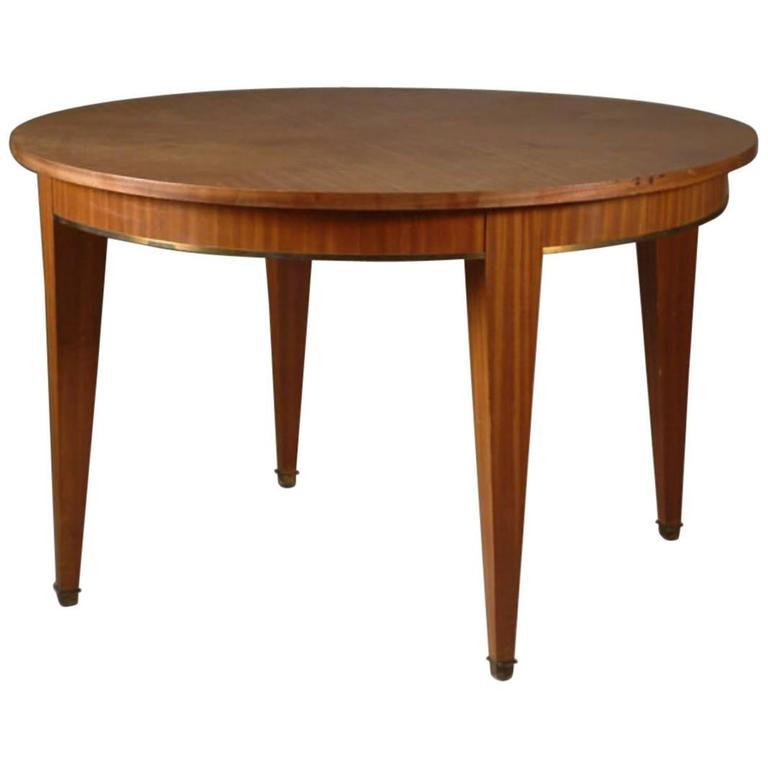 Jacques Adnet Dining Table