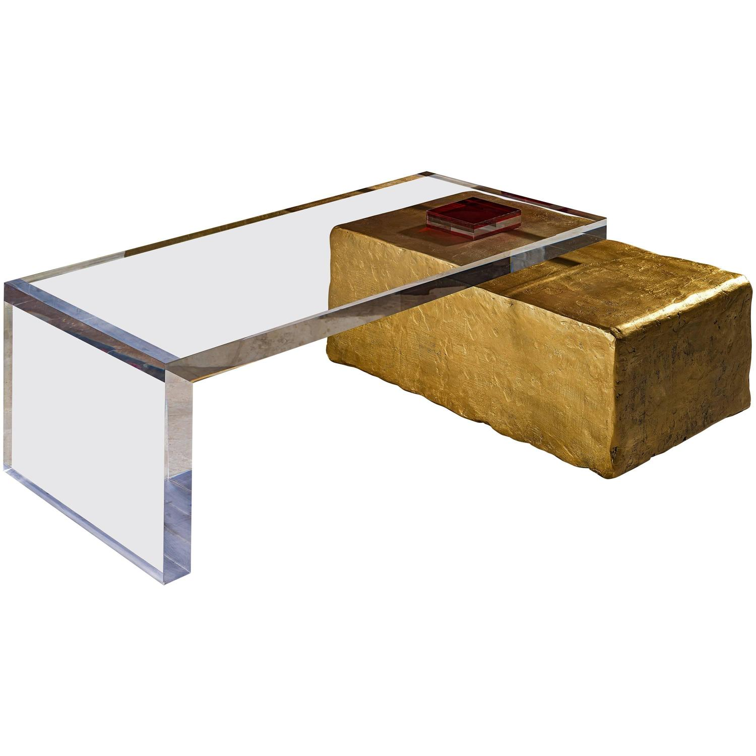 Charly bounan 39 s unique coffee table for sale at 1stdibs for Cool coffee tables for sale