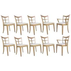 Set of Ten Chairs by Paul Frankl