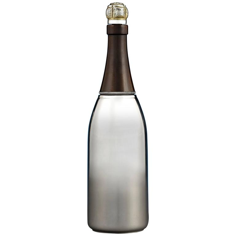 Champagne Bottle Cocktail Shaker At 1stdibs