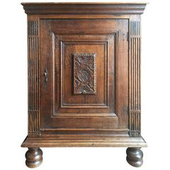 18th Century French Confiturier or Single Door Armoire