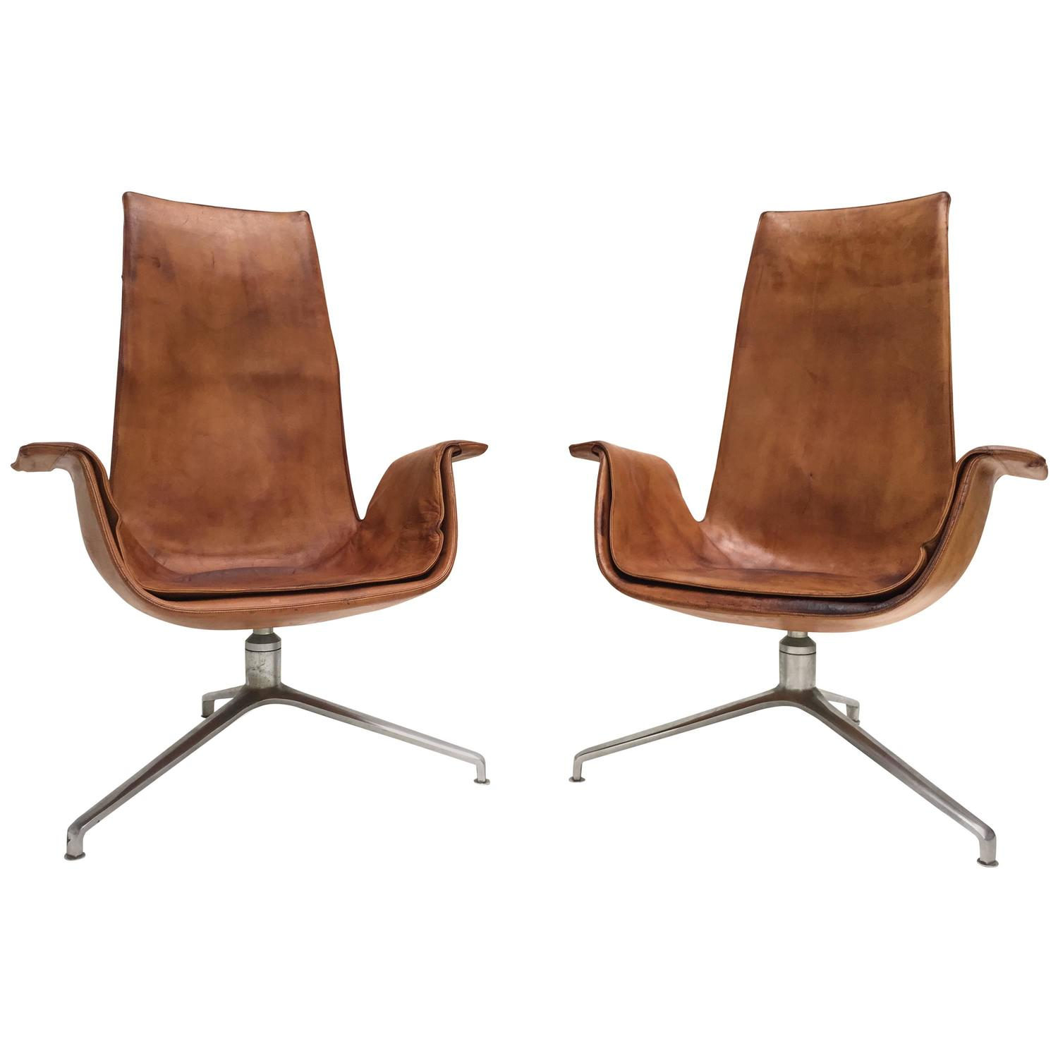 Fk 6725 tulip chairs by preben fabricius and j rgen kastholm for alfred kill 1964 for sale at - Tulip chairs for sale ...