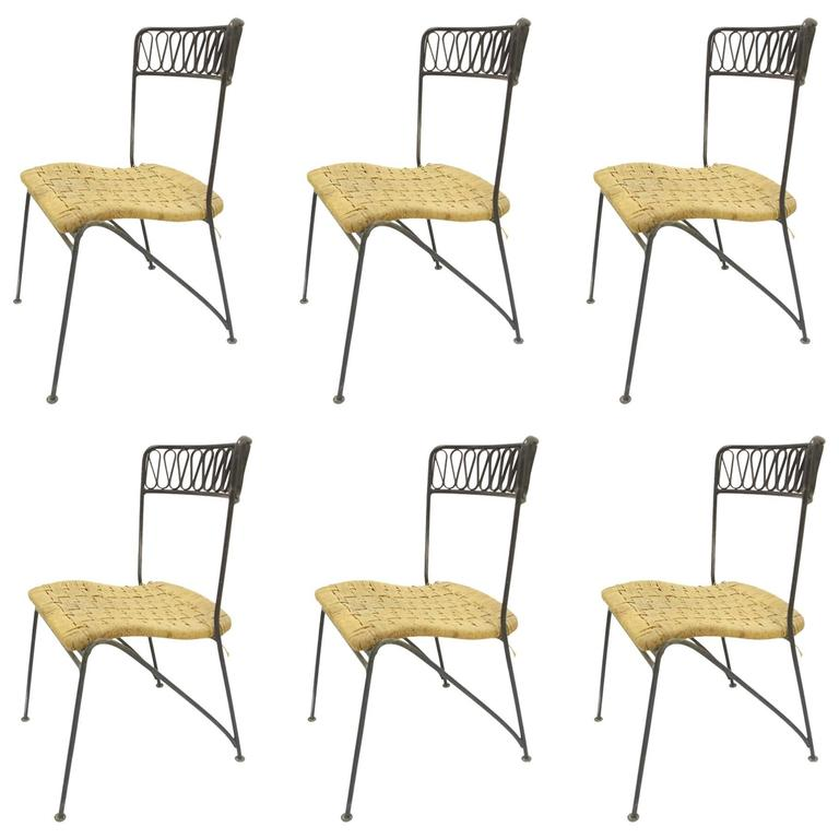 Maurizio Tempestini for Salterini Dining Set of Six Chairs and Table For Sale