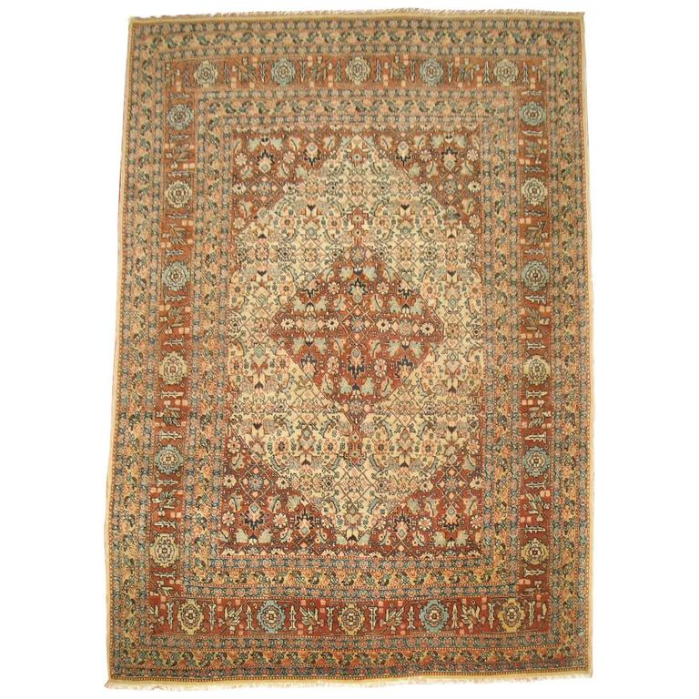 Antique Persian Tabriz Classic Rug At 1stdibs