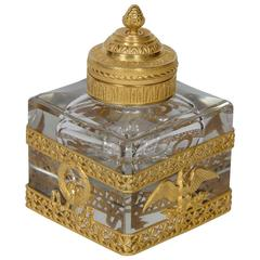 Empire Crystal Inkwell