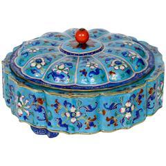 Charming Enameled Box