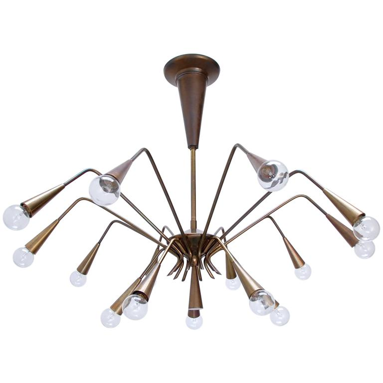 Sputnik Chandelier by Lumi