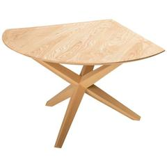 Solid Ash Jack Base End Table