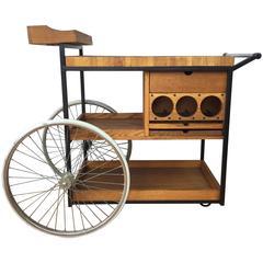 Rare Arthur Umanoff Serving or Bar Cart
