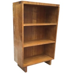 Custom T.H. Robsjohn-Gibbings Walnut Bookcase