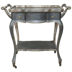 Two-Tier Italian Cart on Casters