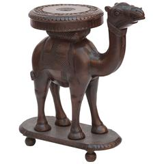 Anglo-Indian Style Camel Table by Chapman