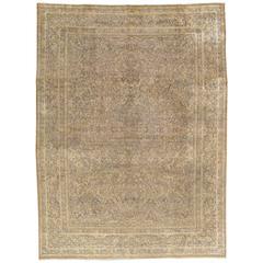 Antiker Persischer Kerman Teppich, Orientteppich, Handgefertigt
